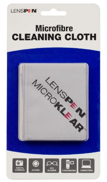 Lenspen Microklear Cloth - grey (MK2G)